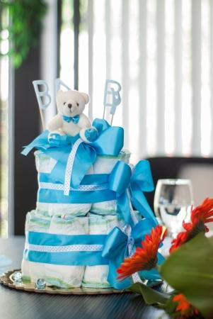 Baby Geburtstagskuchen Lizenzfreie Bilder