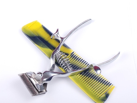 Set Of Hairdressing Accessories photo