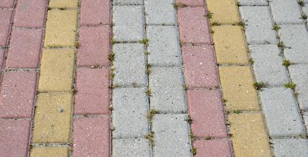 Pavement coloré Banque d'images - 21497026