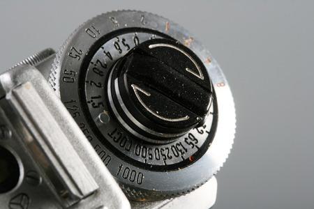 50mm: rewinder of vintage camera