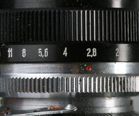 50mm: vintage camera lens