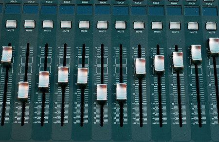 mixing board               photo