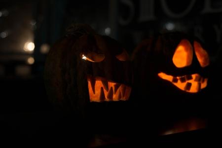 cucurbit: halloween Stock Photo