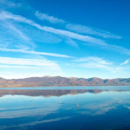 lake prespa , macedonia  photo