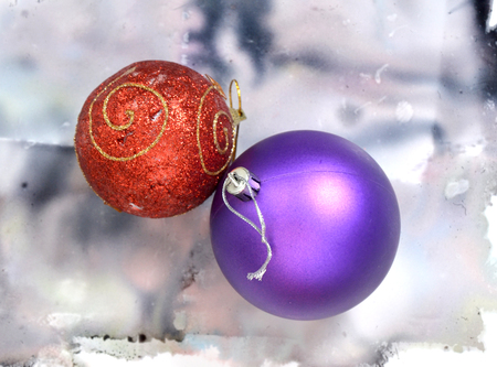 x mass:  X mass balls Stock Photo