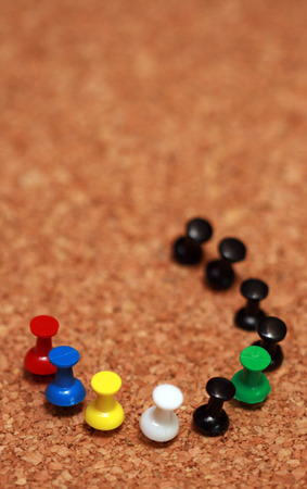 push pins photo