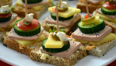 canape food photo