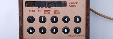 monitored: Old Home Security Alarm