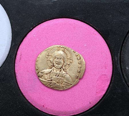 edicto: Moneda rara, Constantino y Elena