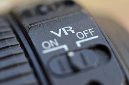 Digital lens, vr switch