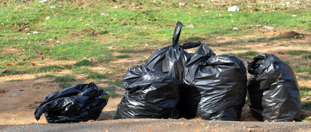 garbage bags photo