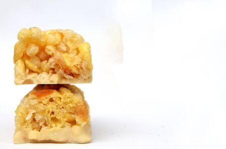 barra de cereal: barra de cereal en blanco