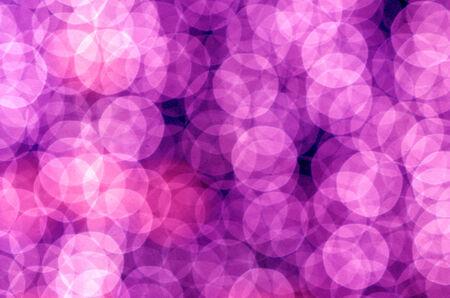 heptagon: The abstract circular bokeh background Stock Photo