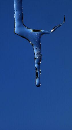 sopel lodu: dziwne, Sopel, różnica koncepcji Zdjęcie Seryjne