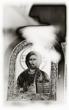 religiosity: Orthodox icon of Jesus