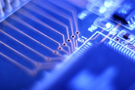 electronic circuit board photo