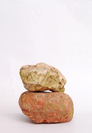 Picture of river stone in the studio photo