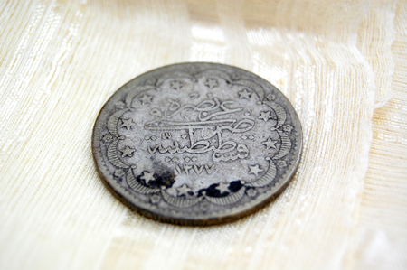 balkans: Picture of a Vintage money from Balkans