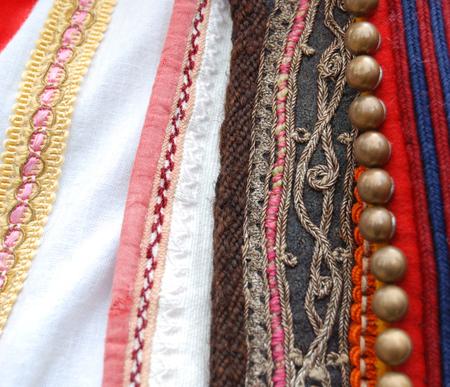 macedonian: Traditional macedonian costume, details