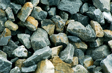 crushed: pic of a crushed stone background