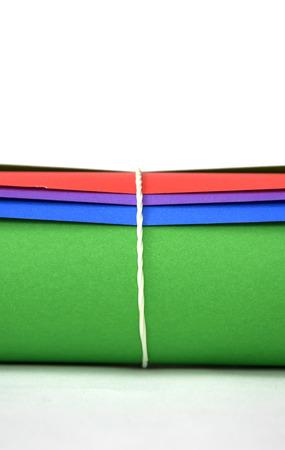 papier couleur: image d'un papier de couleur diff�rentes