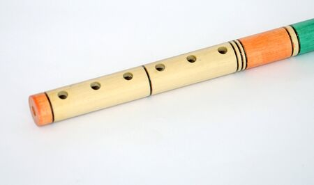 fife: Wooden fife wind instrument picture