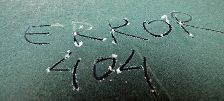 picture of a frost surface with hand writen  text photo