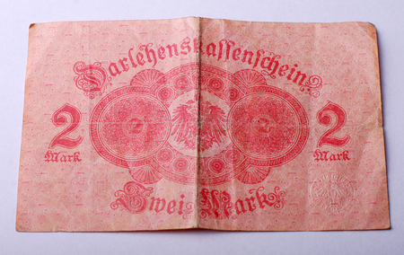 bundes: Picture of an  Old German banknote from 1914