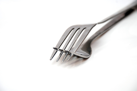 sex pose: picture of a two Forks in love