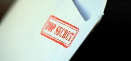 top secret: Picture of a Top secret  letter