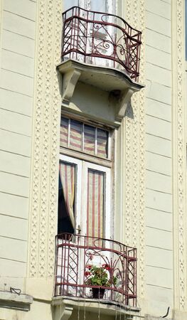 balcony: Balcony in Bitola Macedonia