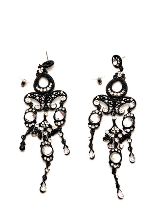 bijoux: Picture of a Fashion earings Stock Photo