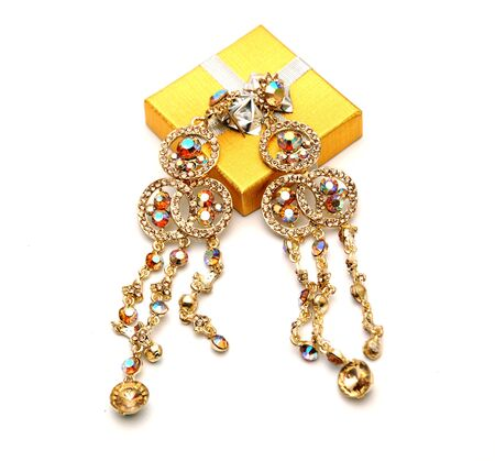 earing: Picture of a Fashion earings Stock Photo