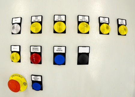 command button: Picture of a  Control panel for control the process