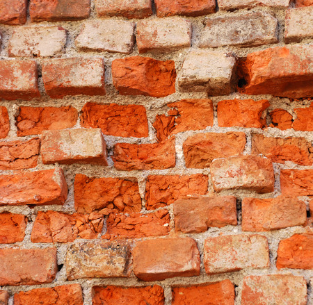adobe wall: Picture of a texture of an old brick wall