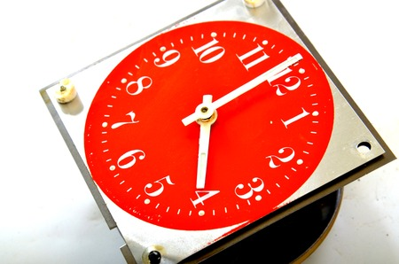numers: Picture of a Vintage wall clock . Time concept