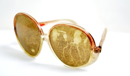 dusty: Picture of a Dirty and dusty sunglasses