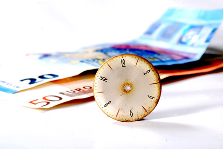 bussiness time: Time is money concept Stock Photo