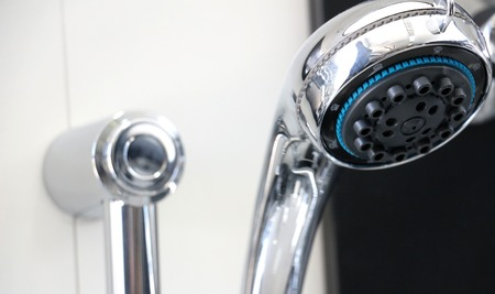 shower stall: picture of a bathroom  shower faucet