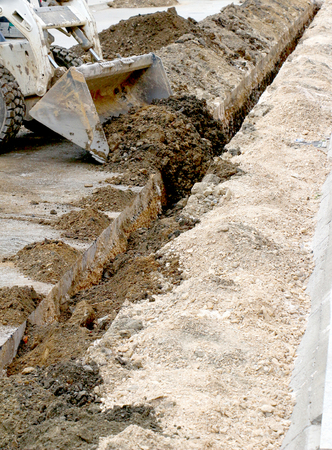 patching: picture of a Road repairing works