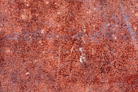 corroded: rusty corroded metal platter, background Stock Photo