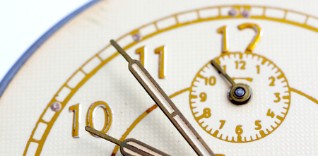 hands  hour: picture of a Closeup of hands on clock face