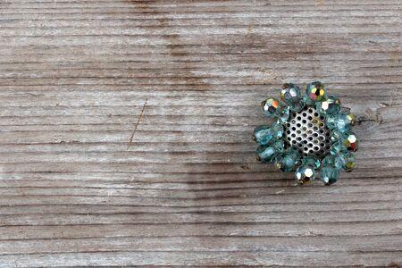 画像使用古いビンテージ ブローチ、宝石で、