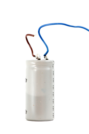 capacitor isolated on white background.,image of a 版權商用圖片