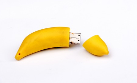 Funny USB Flash Drive,banana design, image of a
