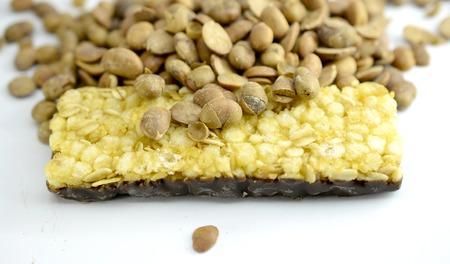 granola, cereal bar, healthy food concept