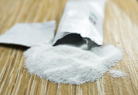 magnesium and calcium supplement, close up,