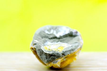 rotten lemon, citrus fruit image of a Stock Photo