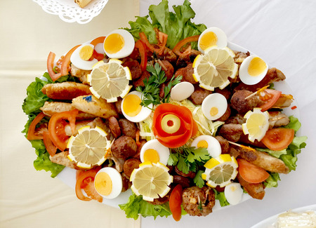 catering buffet or party food, appetizers image of a catering food