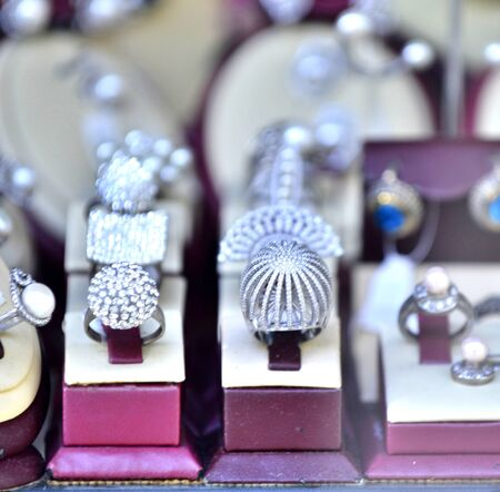 image of a jewelry shop window display